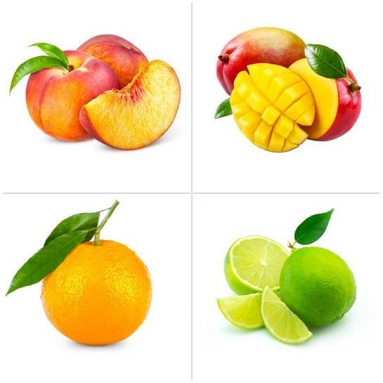 Pesca - Arancia - Mango - Lime